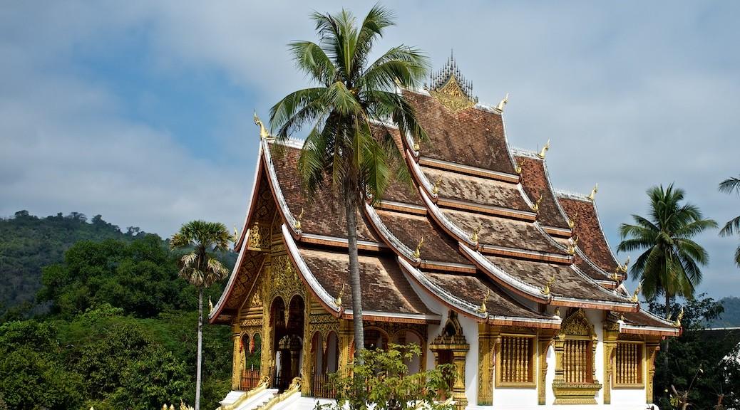 Świątynia Wat Ho Pha Bank, Luang Prabang