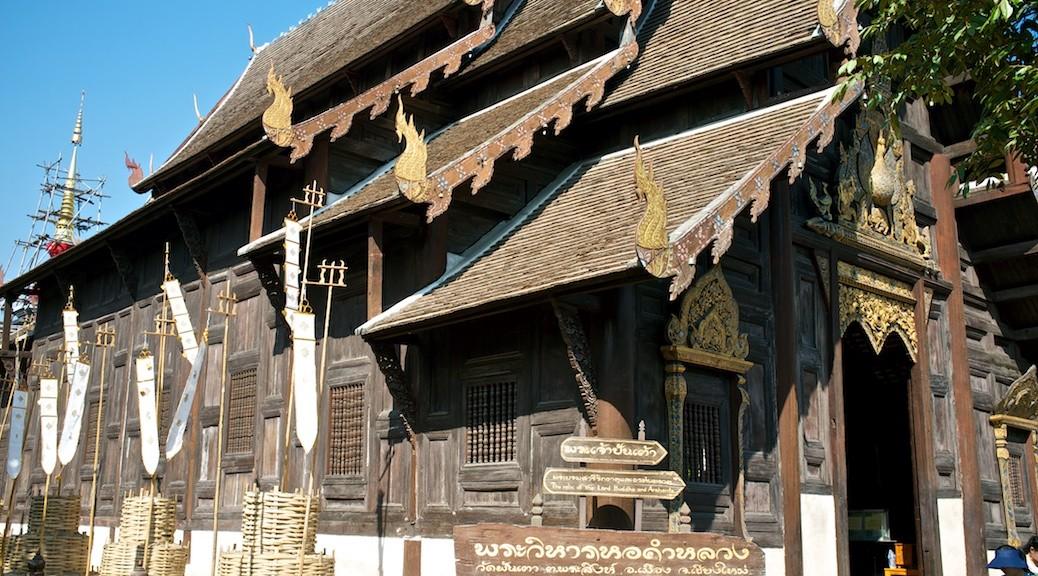 Świątynia Wat Phan Tao, Chiang Mai