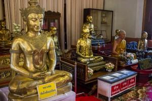 Chiang Mai, wnętrze świątyni